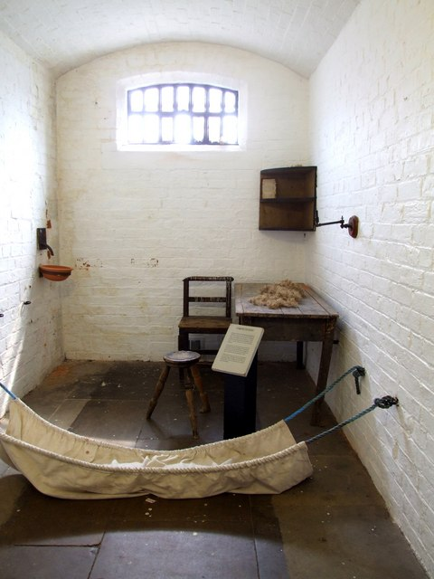 Time Travel to Lincoln Castle Prison, 1837