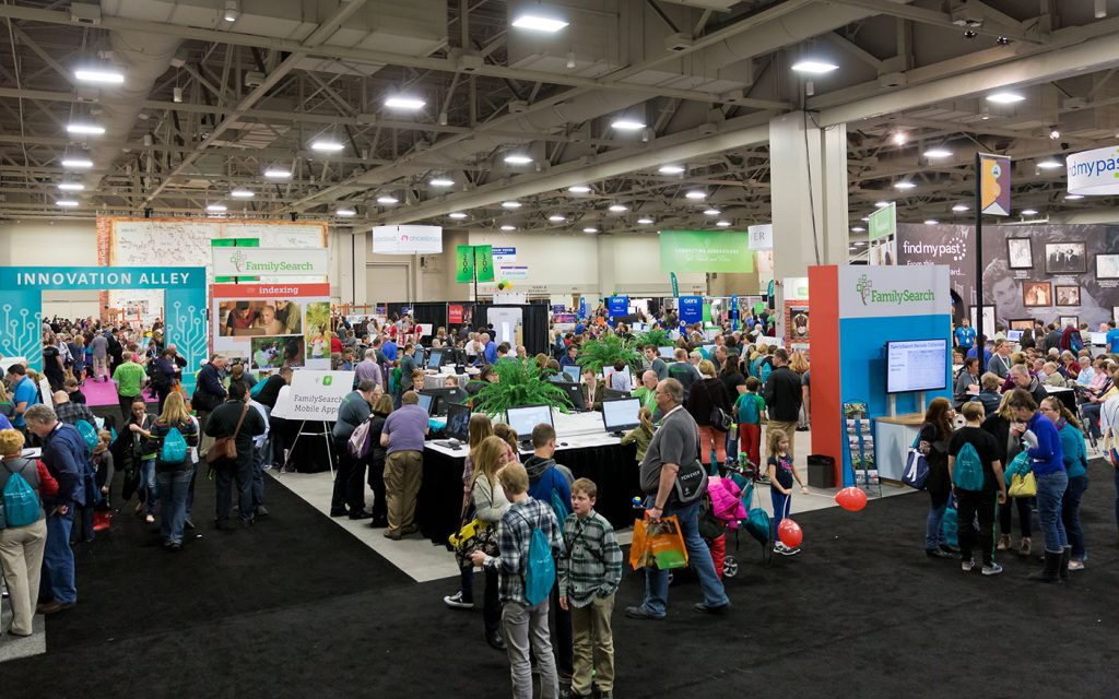 Jump Start your Family History at the RootsTech 2017 Family Discovery Day