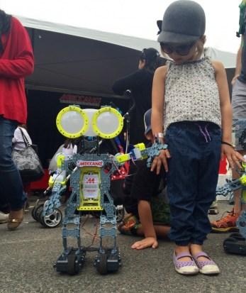 Maker Faire, Meccano robot