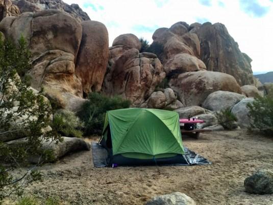 Indian Cove Joshua Tree, campsite #4