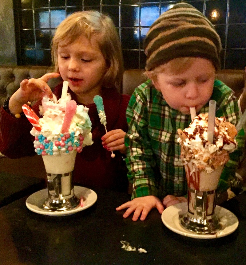 Black Tap Milkshakes Meatpacking Family Road Traveled