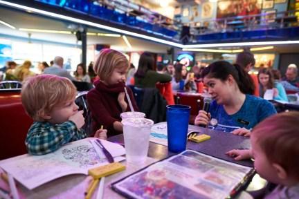 Ellen's Stardust broadway theater Times Square restaurant for familyroadtraveled.com