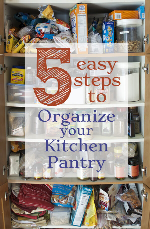 How to Organize Your Kitchen Pantry - Family Spice