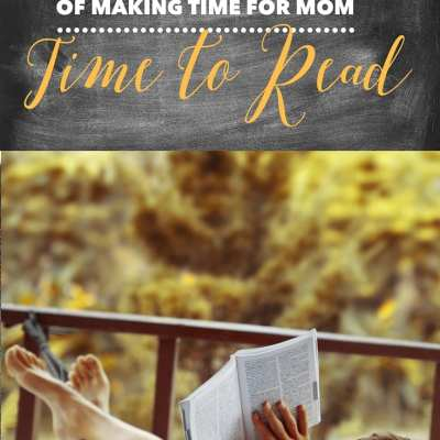 5 Days of Making Time for Mom – Time to Read