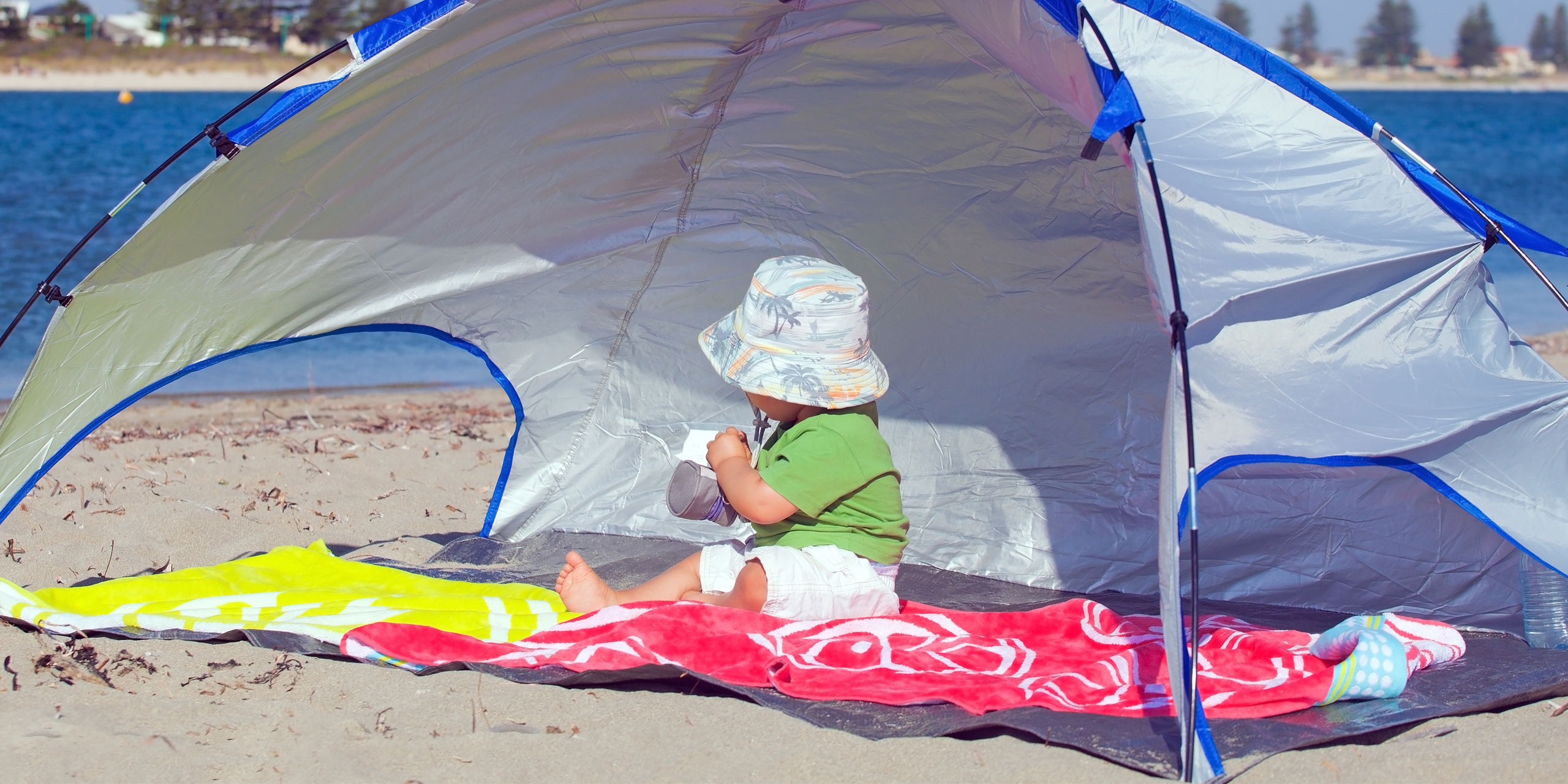 Pop Up Sun Shelter Canada 7 Best Baby Beach Tents Family Vacation Critic