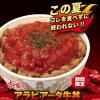 すき家、アラビアータ牛丼2