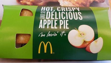 マクドナルド、アップルパイ