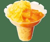 ミスドのかき氷コットンスノーキャンディ・マンゴーヨーグルト