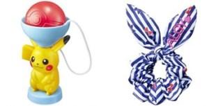 ハッピーセット、2016年7月~8月ポケモンとニコプチおもちゃ一例