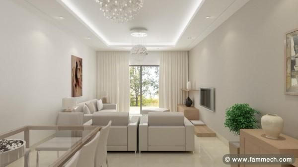 Isolation Phonique Terrasse Immobilier Tunisie | Vente Appartement La Soukra | Tres