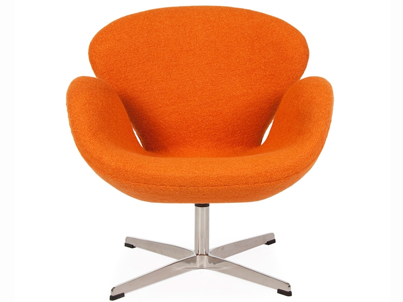 Swan Sessel Arne Jacobsen Orange