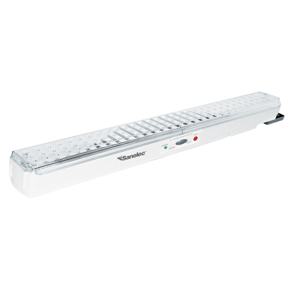 Lamparas De Emergencia Led Luminario De Emergencia Recargable De 90 Leds Sanelec