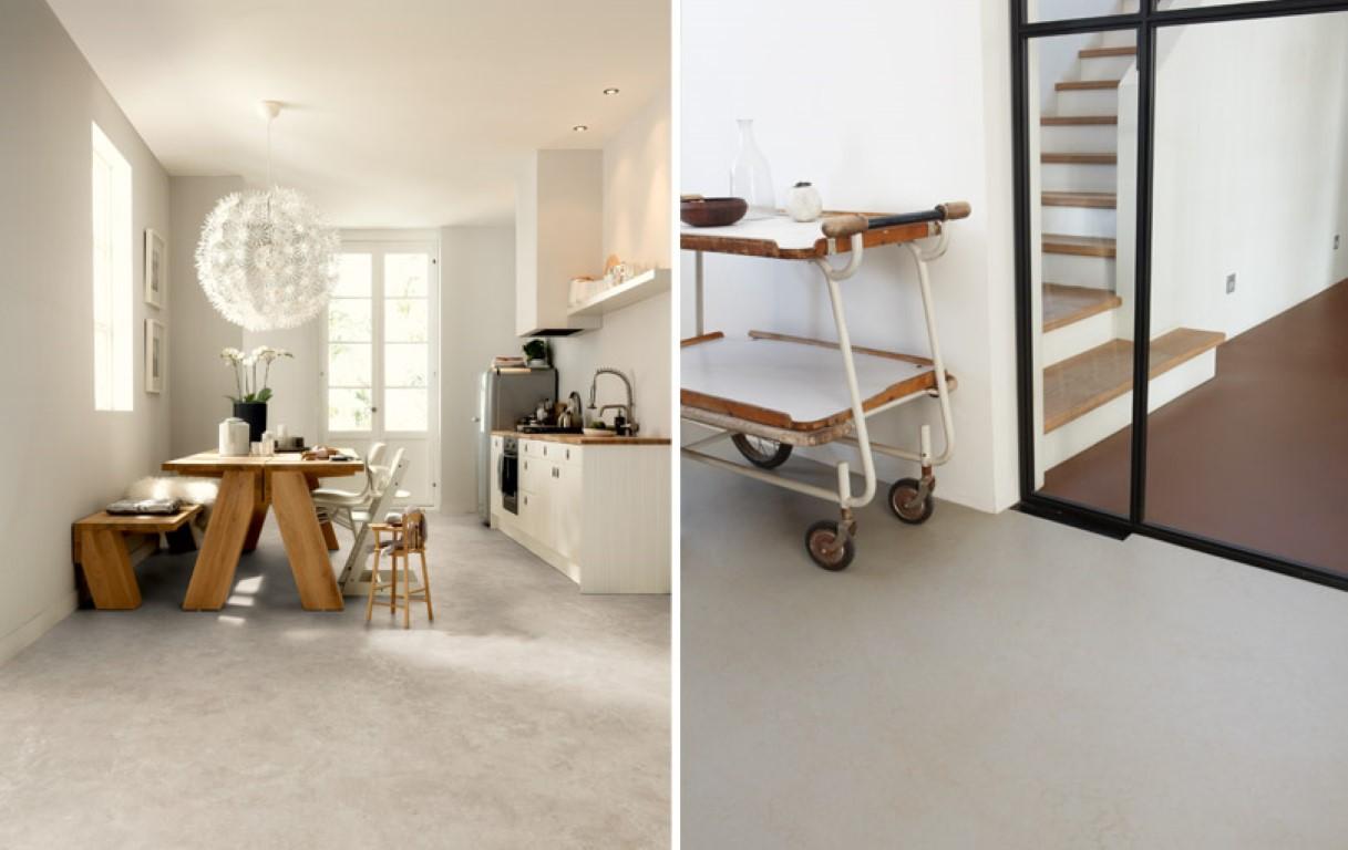 Marmoleum keuken beton abdichten epoxidharz epoksidinis gruntas