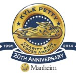 Kyle Petty 20th Anniversary Charity Ride Across America Route