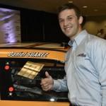 Daniel Suárez will pilot the No. 18 Arris Toyota for Joe Gibbs Racing in the NASCAR Nationwide Series in 2015. Photo - Nigel Kinrade