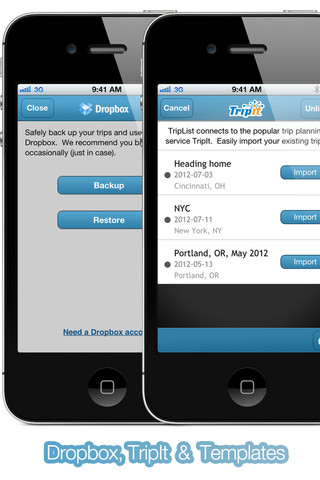 TripList iPhone App Review