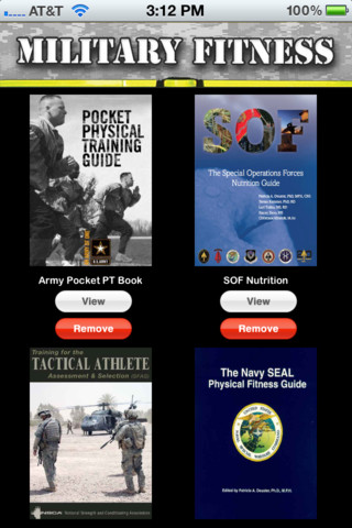 Military Fitness Book Collection iPhone App Review