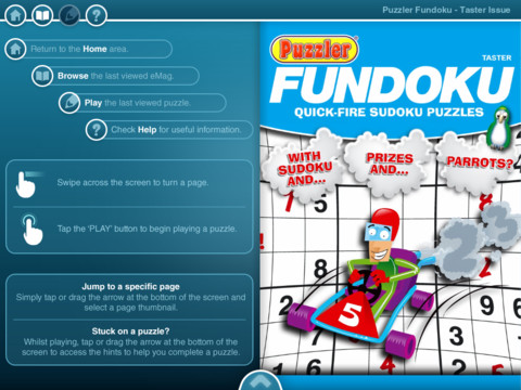 Fundoku eMag iPad App Review