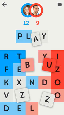 Letterpress - Word Game iPhone App Review