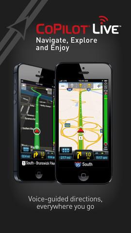 CoPilot GPS Live Premium iPhone App Review