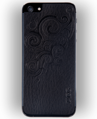 Zagg Leather Skins for iPhone 5