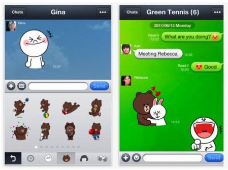 line iPhone App Review