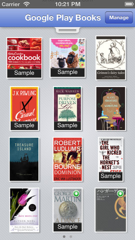 Google Play Books iPhone App Review