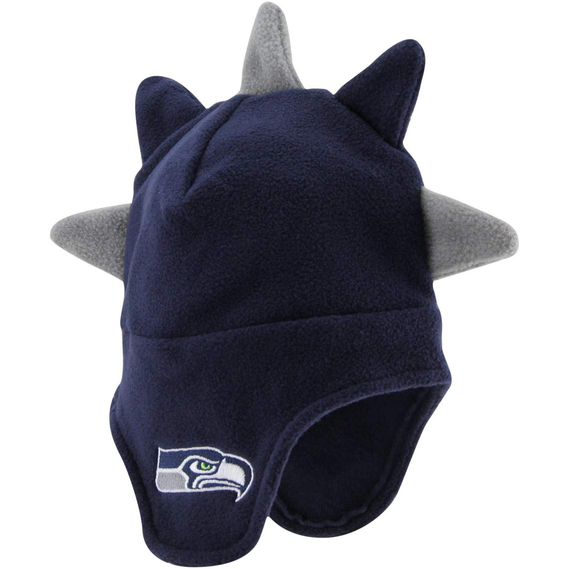 '47 Brand Seattle Seahawks Toddler Spike-O-Saurus Knit Hat - Navy Blue