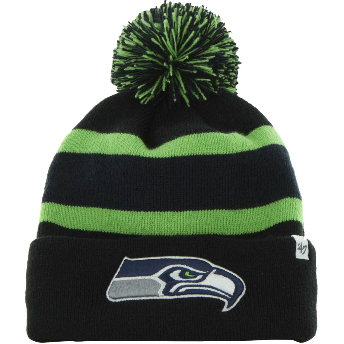 '47 Brand Seattle Seahawks Breakaway Knit Cuffed Beanie - College Navy