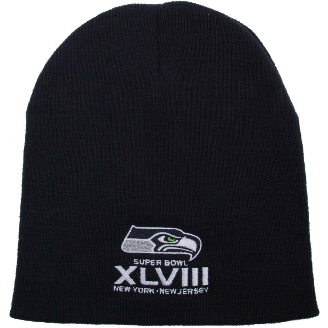 '47 Brand Seattle Seahawks Super Bowl XLVIII Bound Uncuffed Acrylic Beanie - College Navy