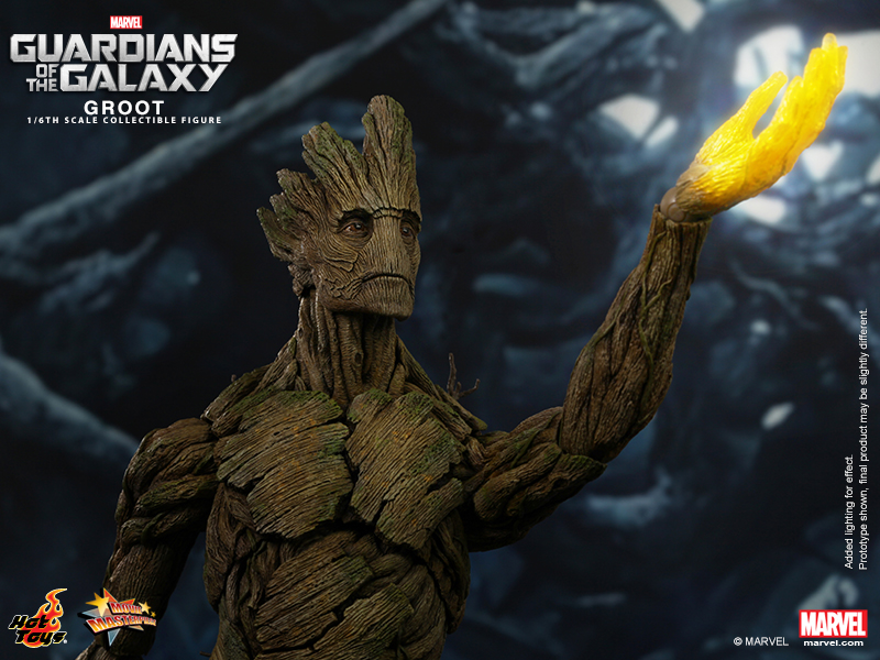 I Am Groot Hot Toys Rocket Raccoon And Groot Now Up For Pre-order