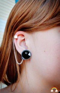 Super Mario Chain Chomp Earrings [pic] | Fanboy Fashion
