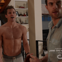"""Justin Deeley as Timmy shirtless in Significant Mother 1x07 """"Under Buddy"""""""
