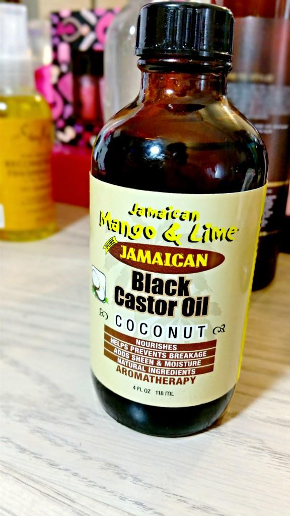 Jamaican Mango & Lime Jamaican Black Castor Oil with Coconut