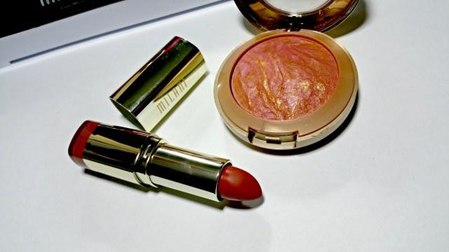 Milani Berry Amore Baked Blush, Matte Beauty Color Statement Lipstick