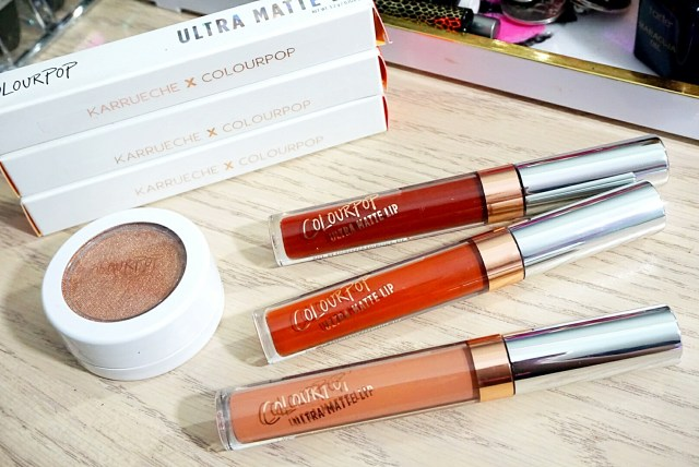 ColourPop x Karrueche Collection