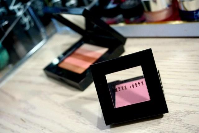 Bobbi Brown Desert Pink Blush + Sunset Pink Shimmer Brick
