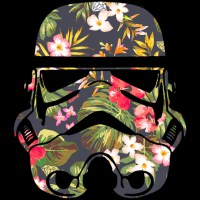 Tropical Stormtrooper T-shirt Design by StarWars - Fancy T ...