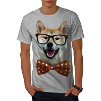 SMART SHIBA INU DOG T-SHIRT DESIGN - Fancy T-shirts
