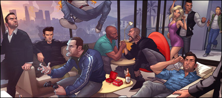 Grand Theft Auto 5 Car Wallpaper Fandomania 187 Fan Art Friday Grand Theft Auto By Patrick Brown