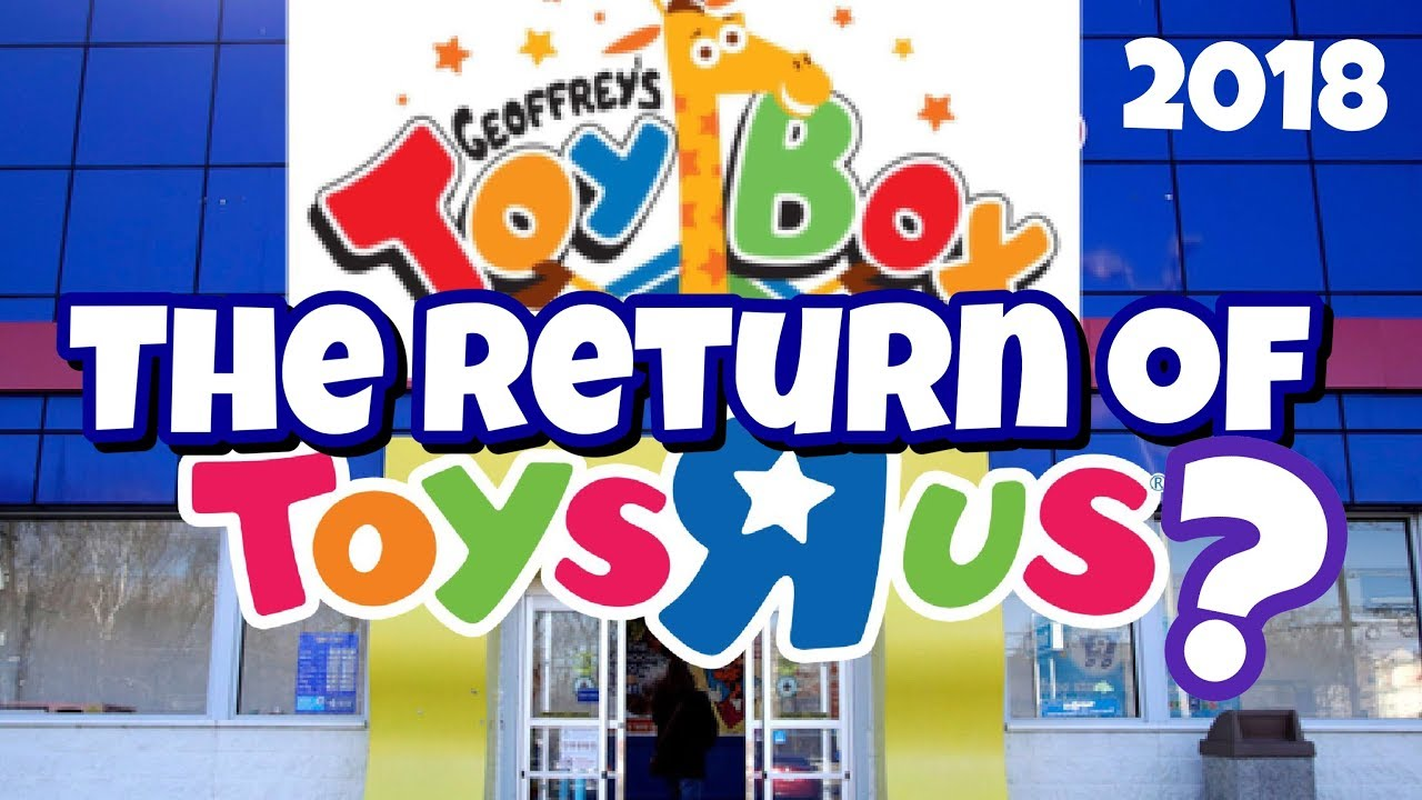 Toy Box Toys Toys R Us To Relaunch As Geoffrey S Toy Box Fandomwire