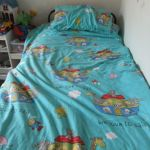 15/12: my 4-year-old son makes his own bed every morning :)