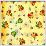 Fabric Friday: from nanny's stash