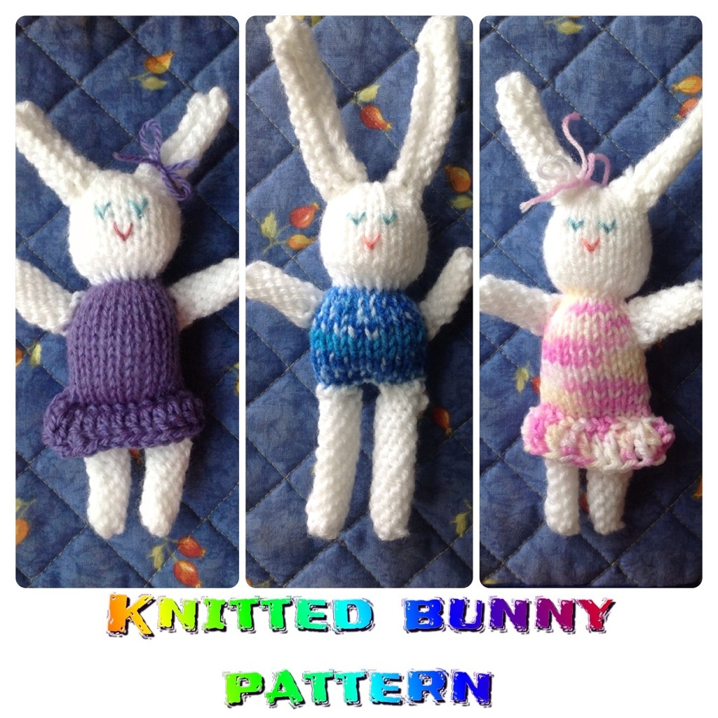 Easter Bunny Knitting Pattern : Easter bunnies! {knitting pattern}