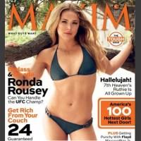 Ronda Rousey Maxim cover pics