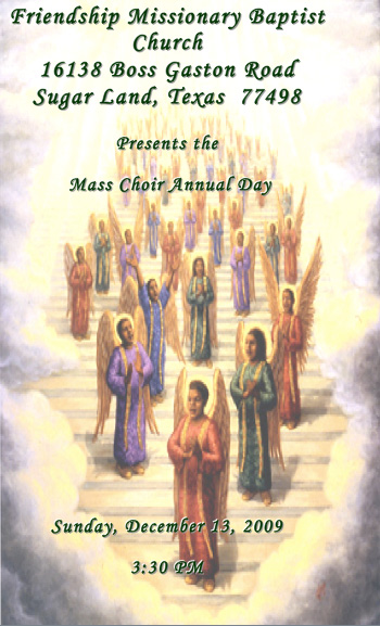 Mass choir annual day
