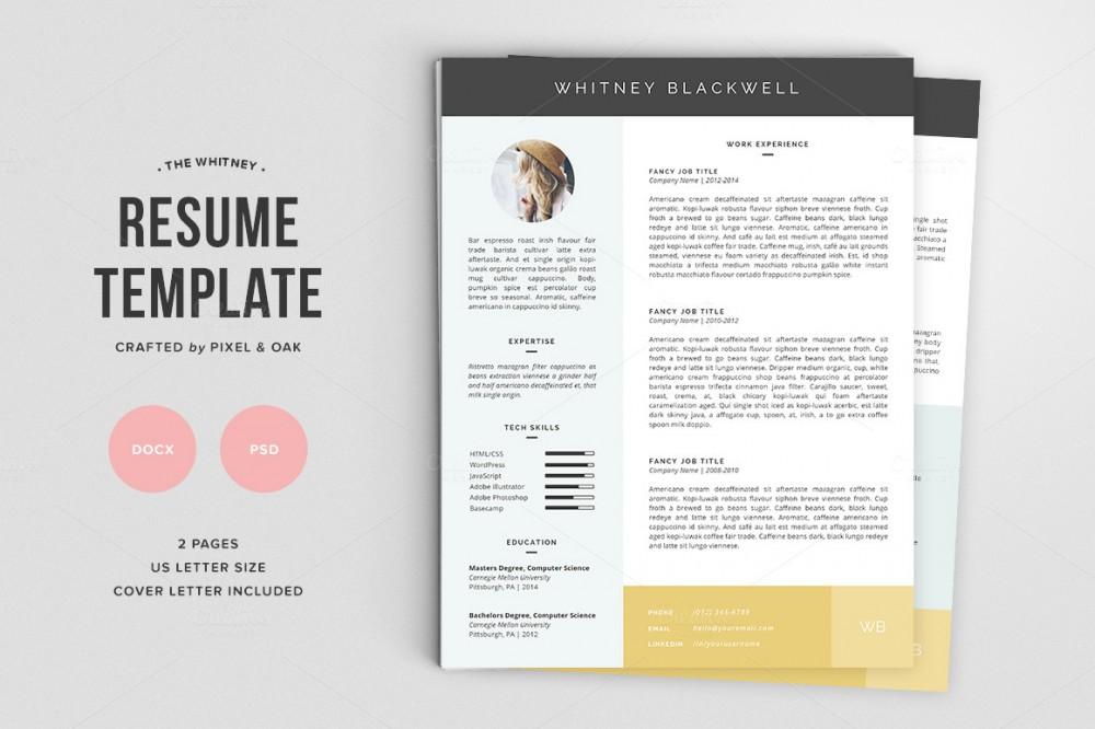 blog template cv gratuit