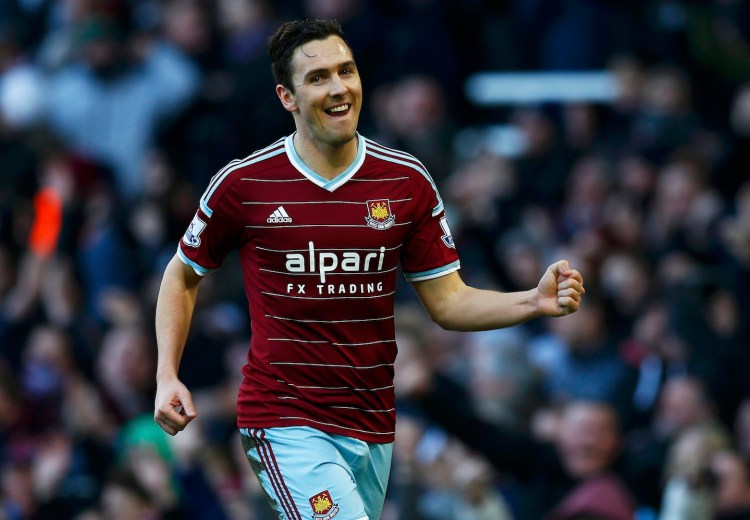 Stewart Downing, a former Red  (whufc.com)