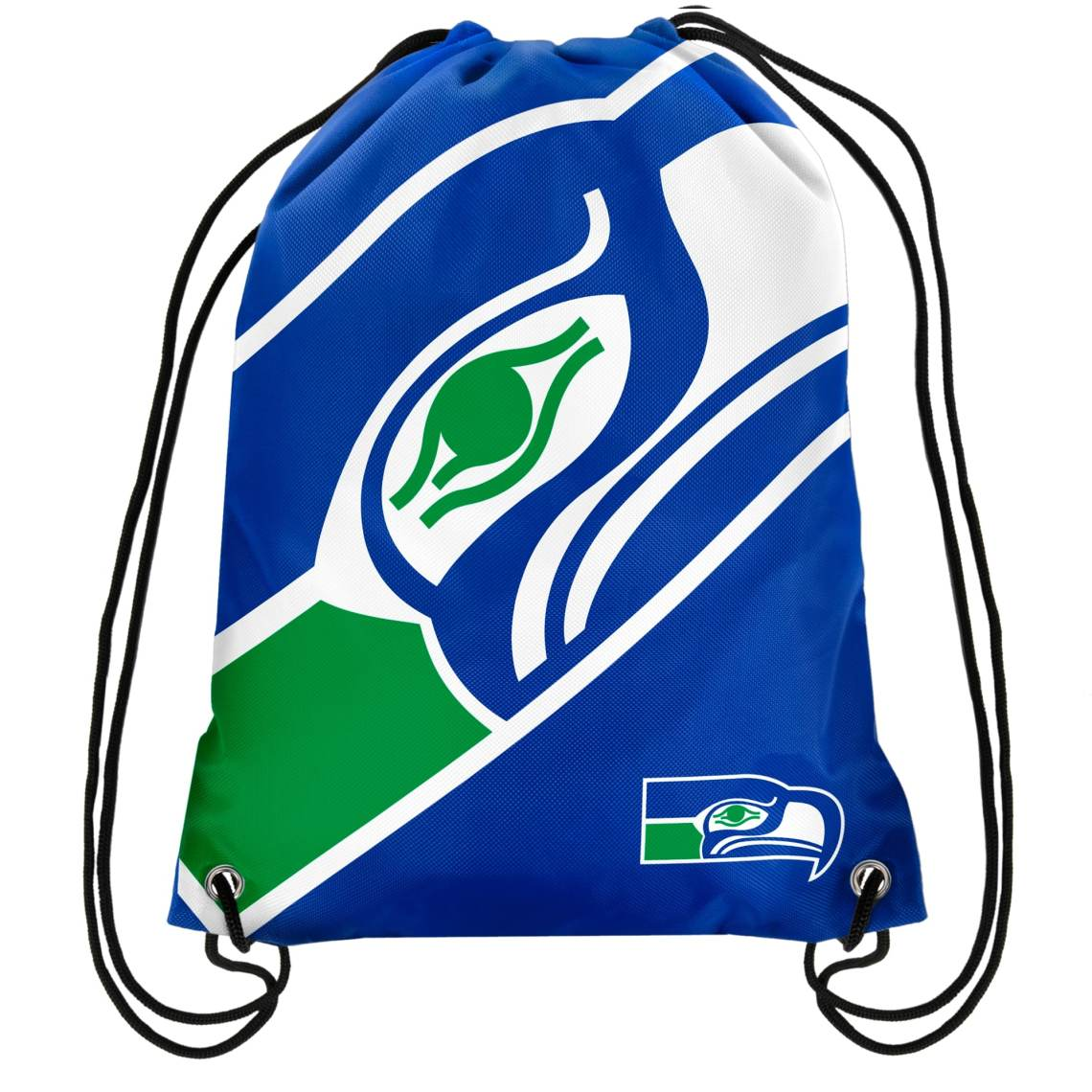 Seattle Seahawks Retro Drawstring Backpack