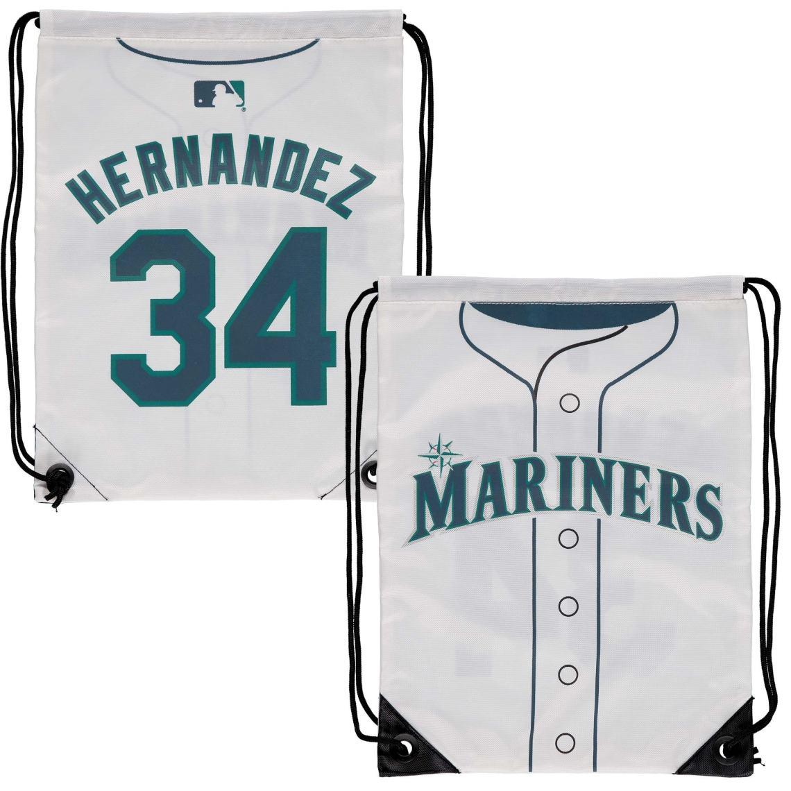 Felix Hernandez Seattle Mariners Player Elite Drawstring Backpack -